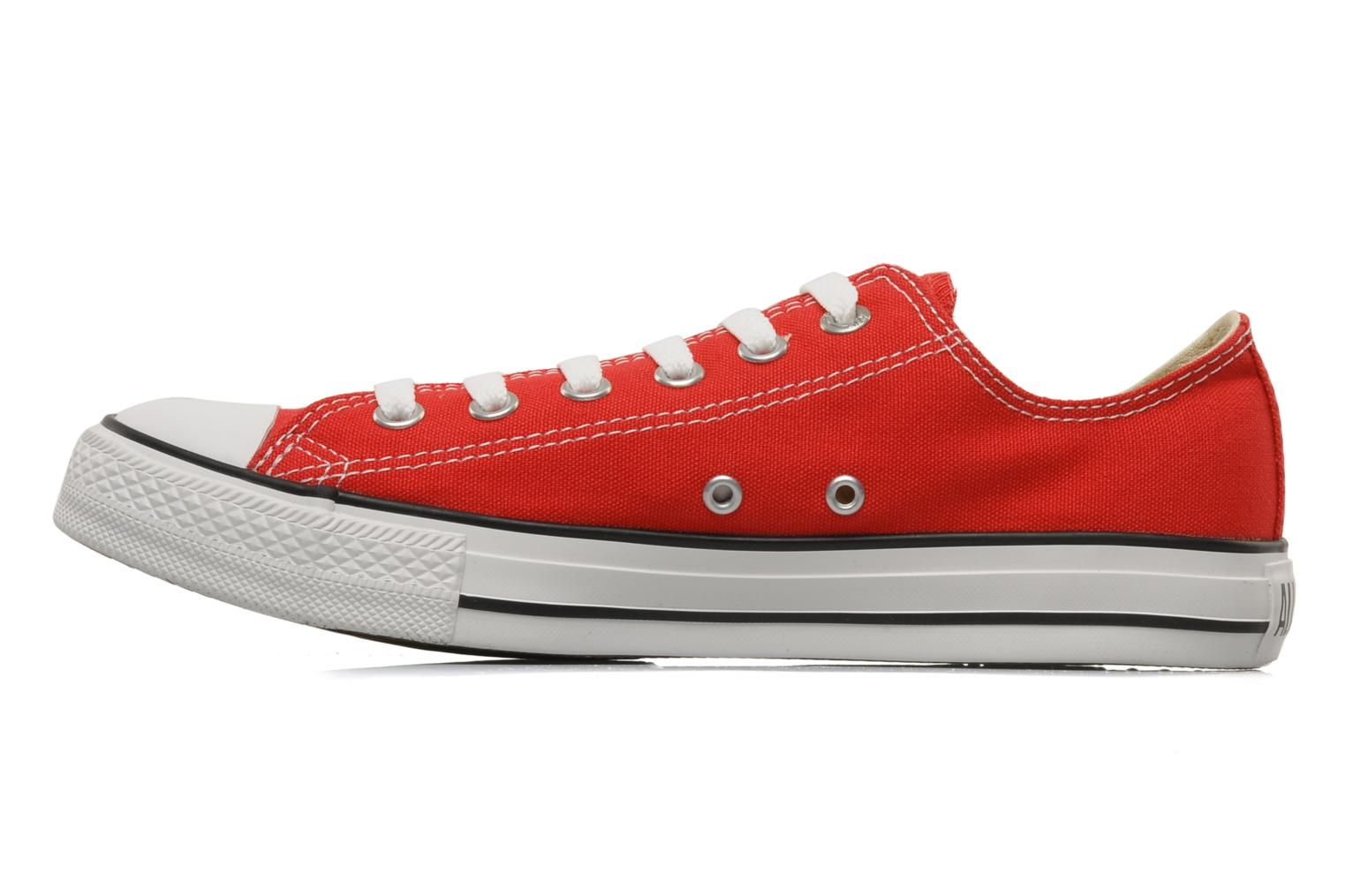 Sneakers Converse Chuck Taylor All Star Ox M Rosso immagine frontale