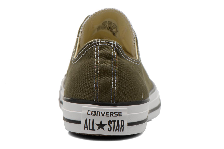 Sneakers Converse Chuck Taylor All Star Ox M Groen rechts