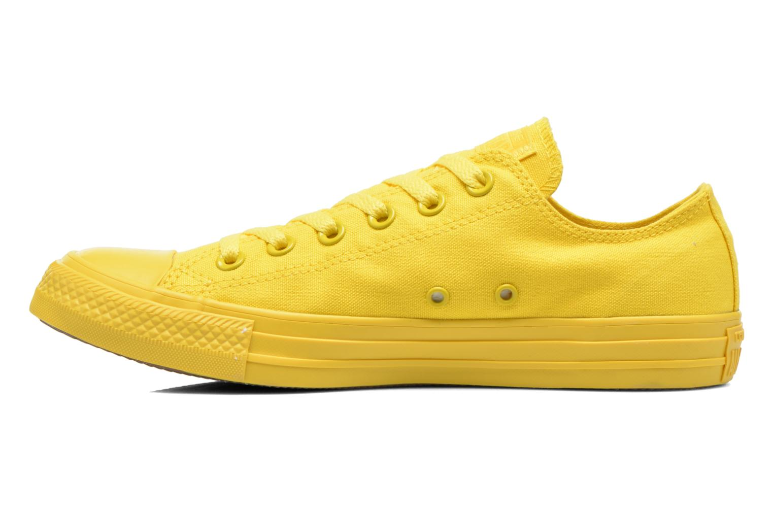 Sneakers Converse Chuck Taylor All Star Ox M Geel voorkant