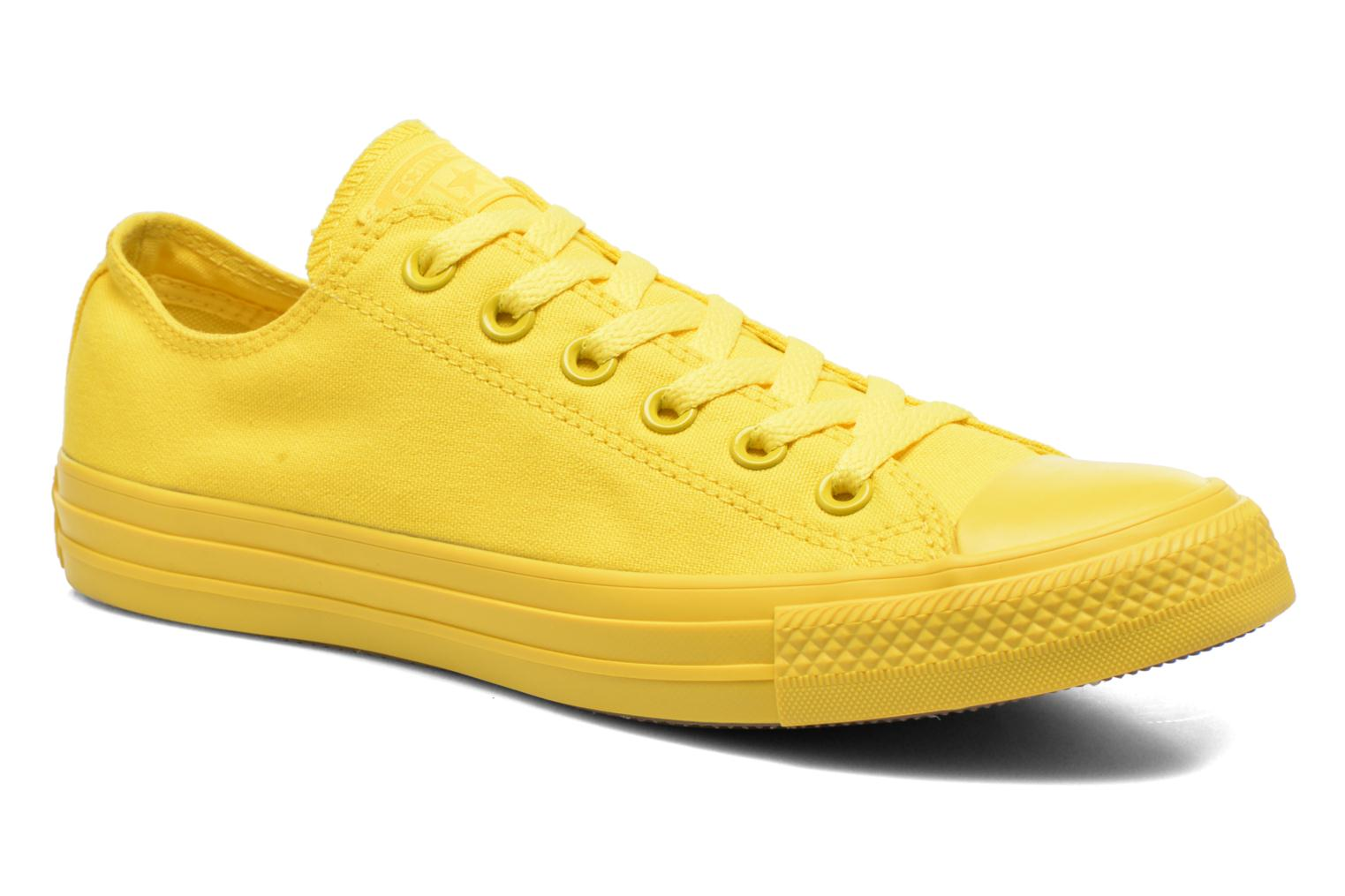 Sneakers Converse Chuck Taylor All Star Ox M Geel detail