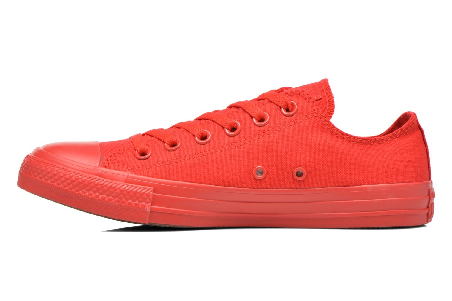 Sneakers Converse Chuck Taylor All Star Ox M Rood voorkant