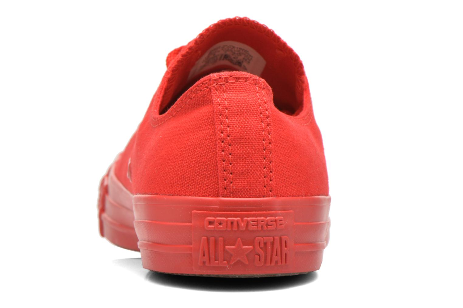 Sneakers Converse Chuck Taylor All Star Ox M Rood rechts