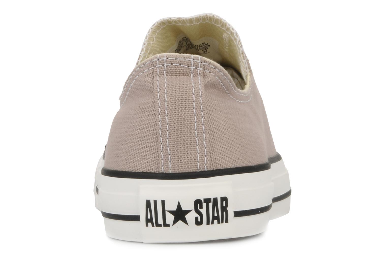 Baskets Converse Chuck Taylor All Star Ox M Rose vue droite