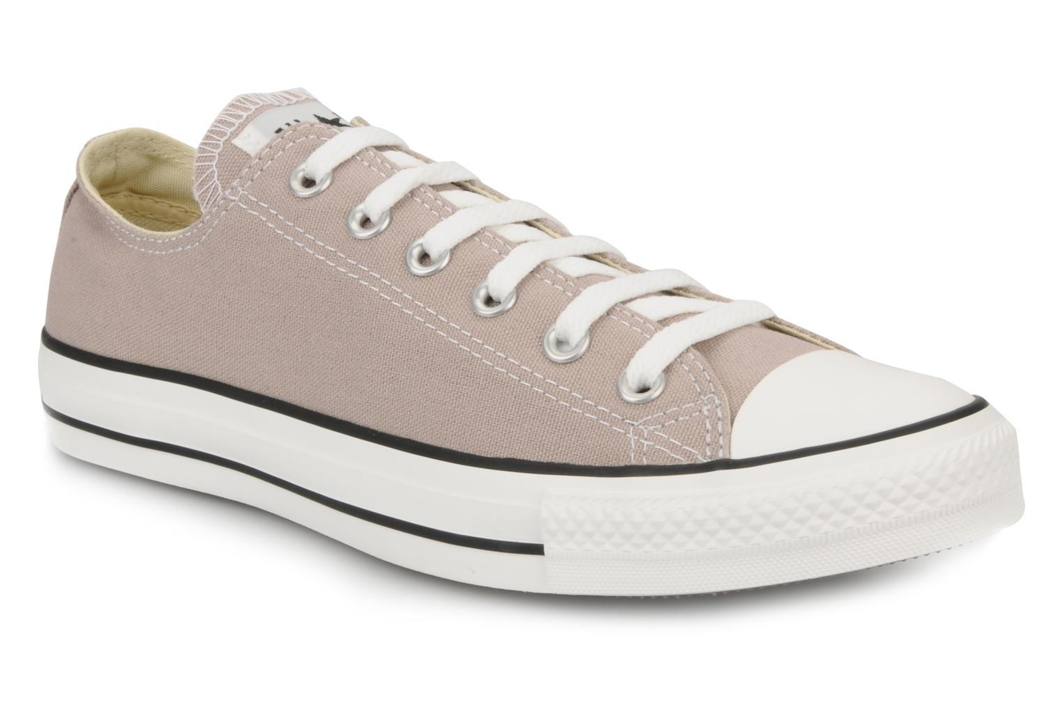 Baskets Converse Chuck Taylor All Star Ox M Rose vue détail/paire