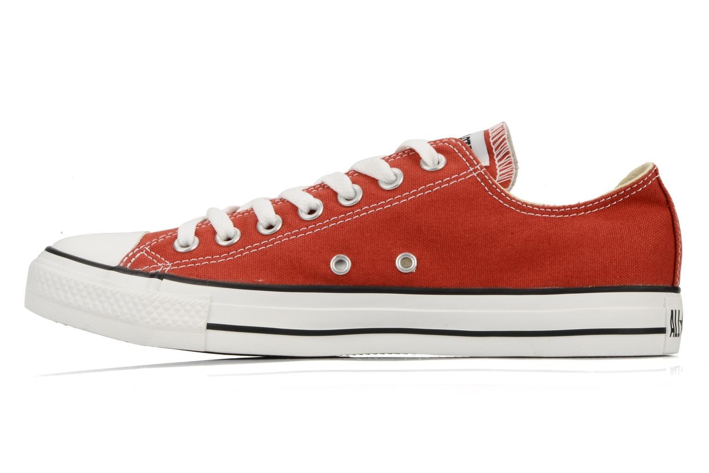 Sneaker Converse Chuck Taylor All Star Ox M rot ansicht von vorne