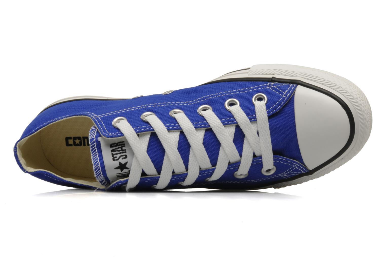 Baskets Converse Chuck Taylor All Star Ox M Bleu vue gauche