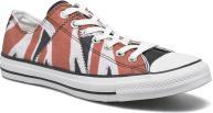 White/red/black