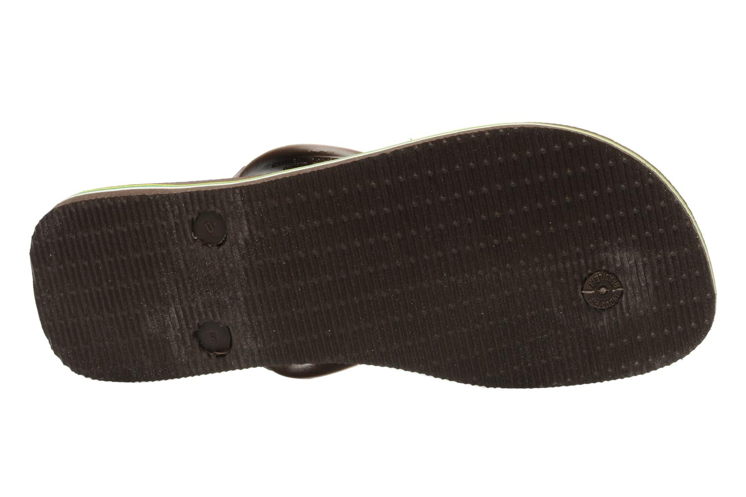 Flip flops Havaianas Brazil H Brown view from above