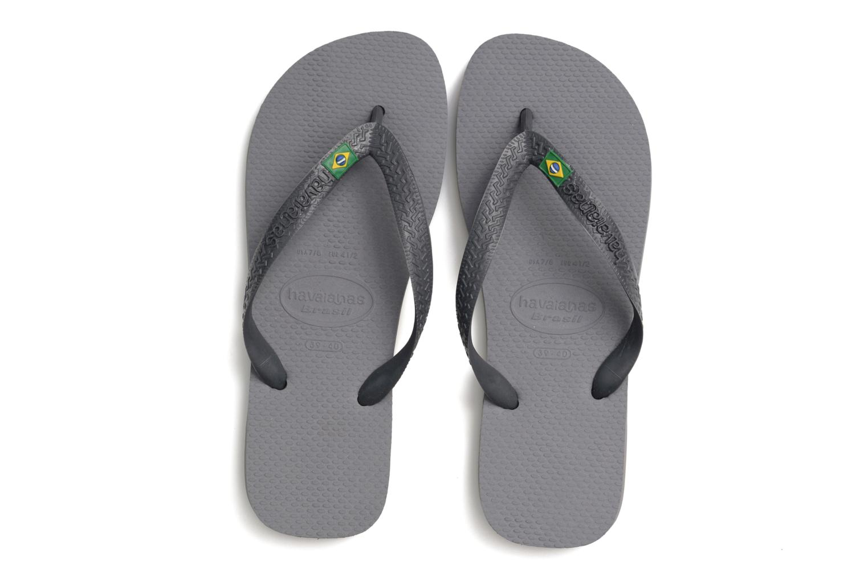Flip flops Havaianas Brazil H Grey 3/4 view