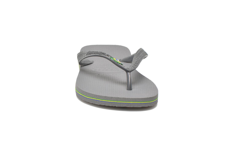 Flip flops Havaianas Brazil H Grey model view