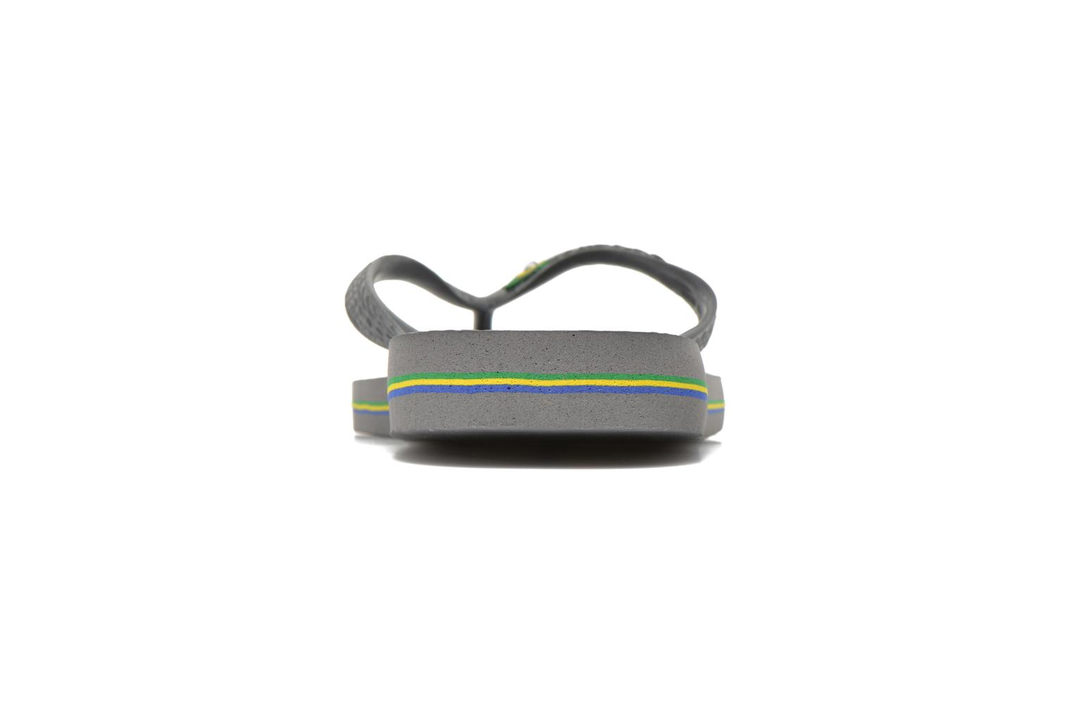 Flip flops Havaianas Brazil H Grey view from the right