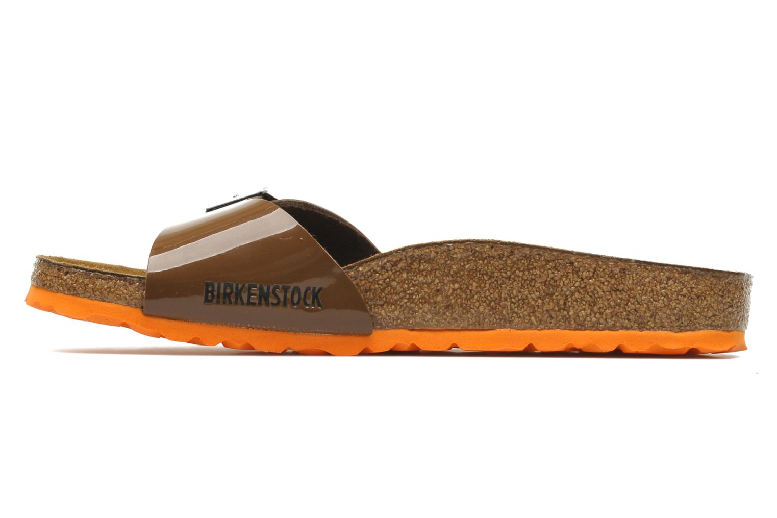 Madrid Flor W Vernis Bison Brown / LS orange