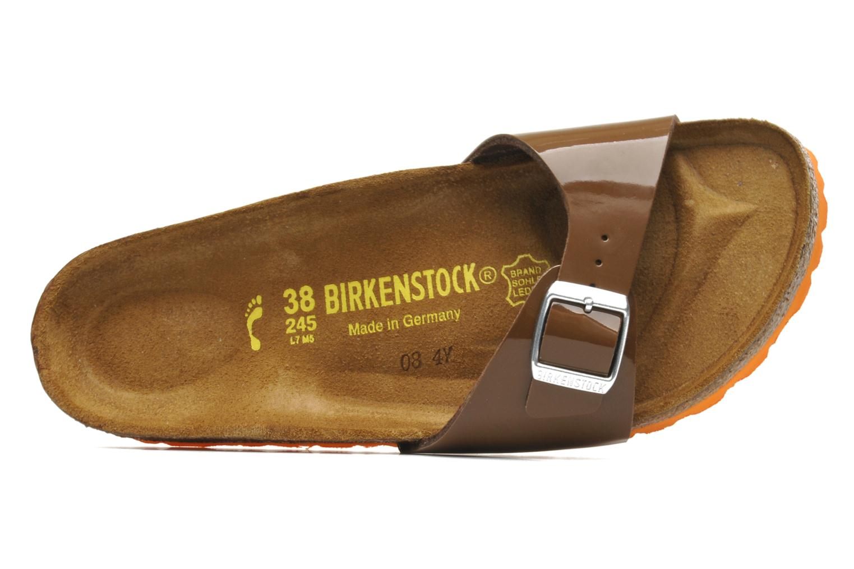 Madrid Flor W Vernis Bison Brown / LS orange