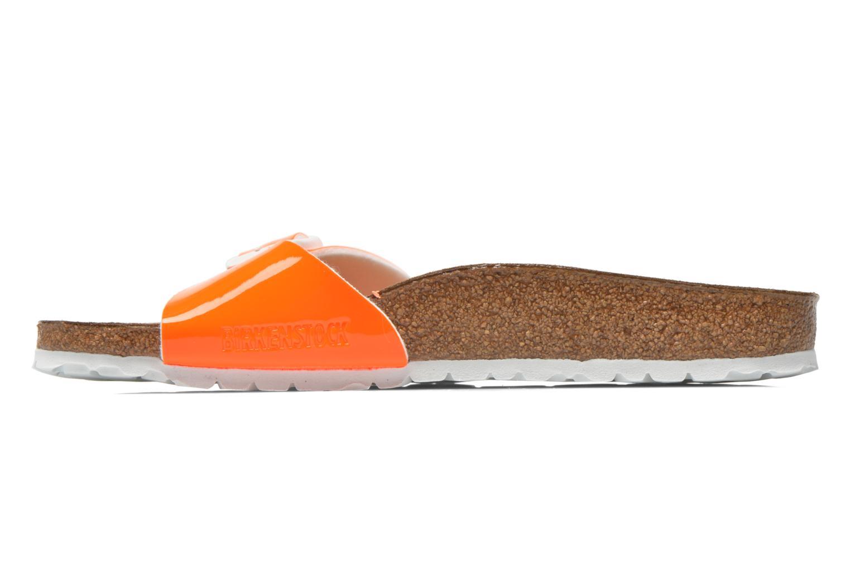 Clogs & Pantoletten Birkenstock Madrid Flor W orange ansicht von vorne