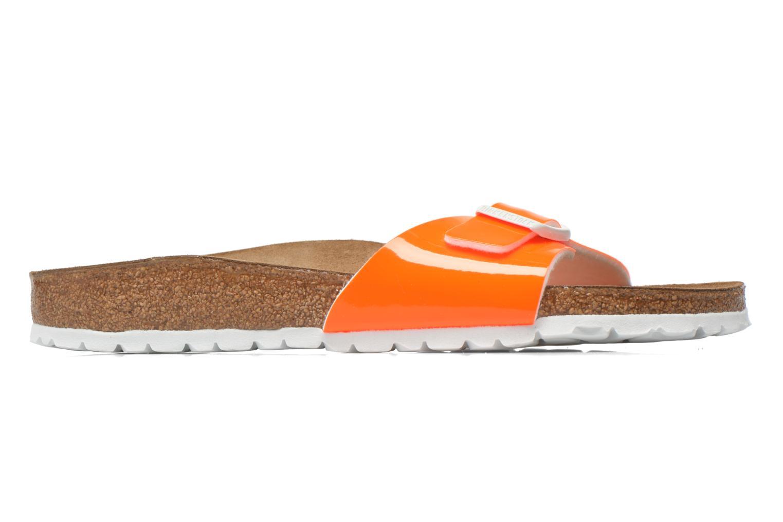 Clogs & Pantoletten Birkenstock Madrid Flor W orange ansicht von hinten