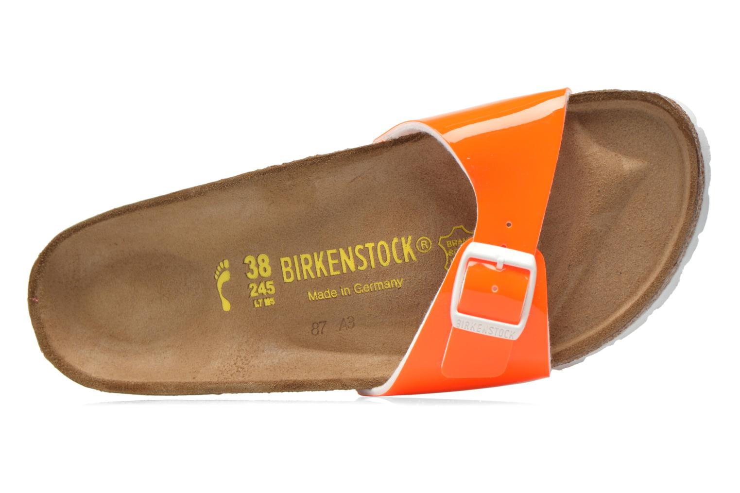 Mules & clogs Birkenstock Madrid Flor W Orange view from the left