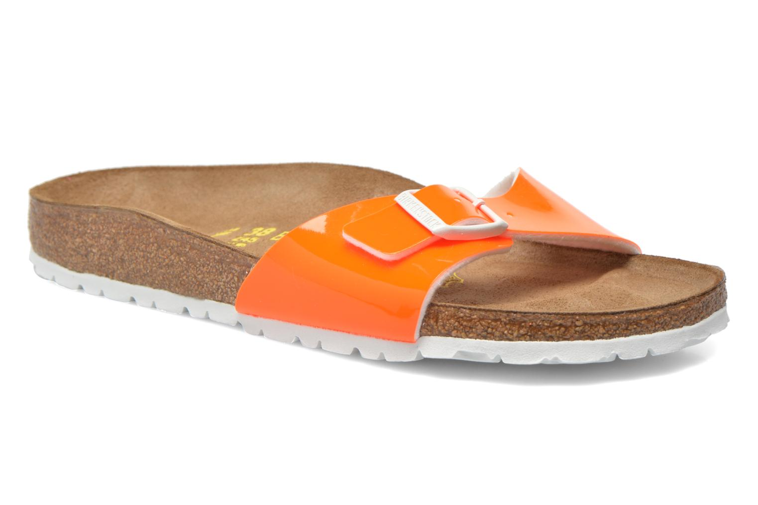 Mules & clogs Birkenstock Madrid Flor W Orange detailed view/ Pair view