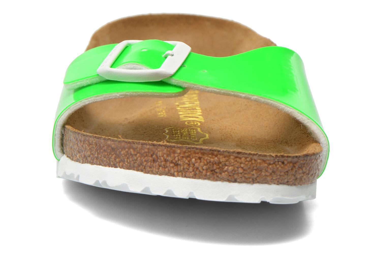 Clogs & Pantoletten Birkenstock Madrid Flor W grün schuhe getragen