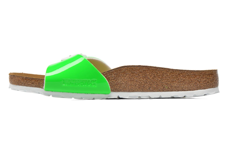Clogs & Pantoletten Birkenstock Madrid Flor W grün ansicht von vorne