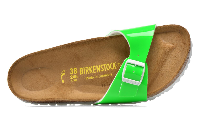 Clogs & Pantoletten Birkenstock Madrid Flor W grün ansicht von links