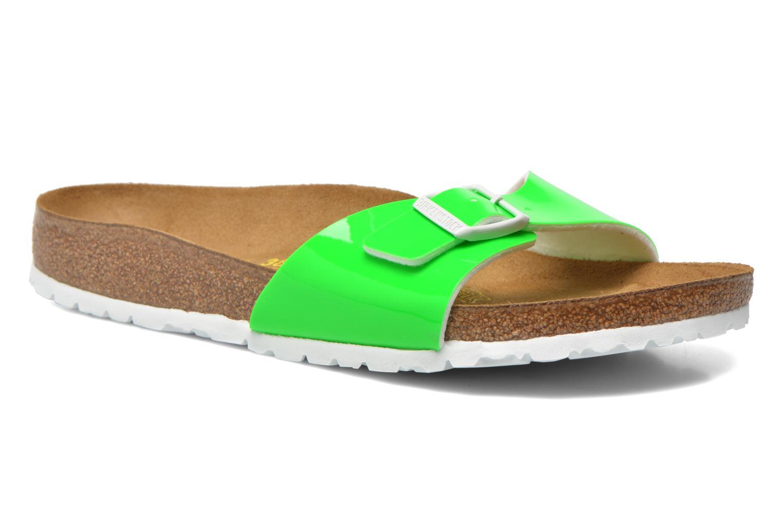 Clogs & Pantoletten Birkenstock Madrid Flor W grün detaillierte ansicht/modell