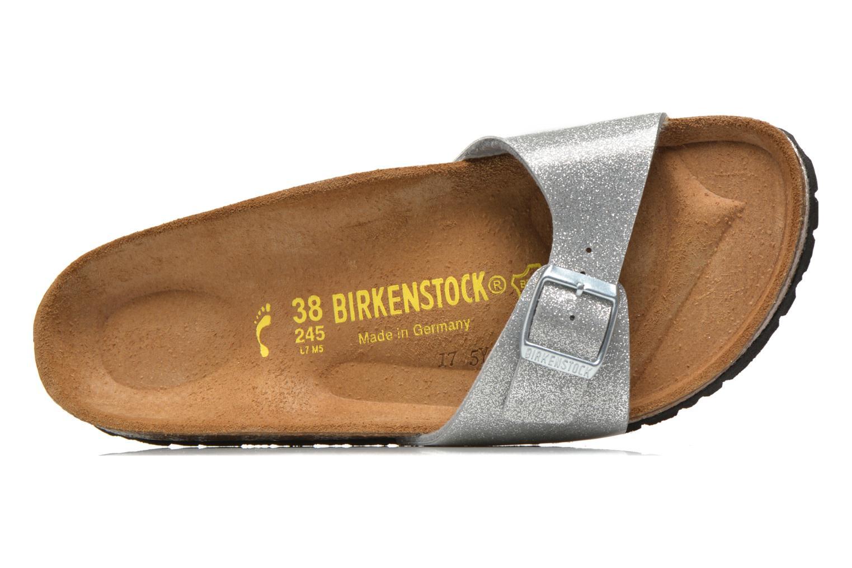 Träskor & clogs Birkenstock Madrid Flor W Silver bild från vänster sidan