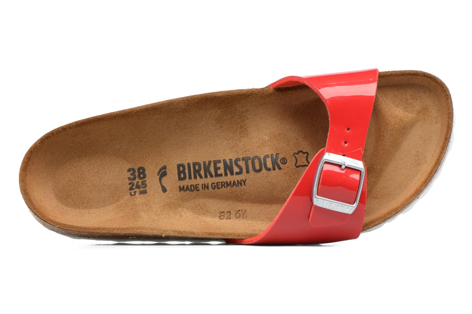 Mules & clogs Birkenstock Madrid Flor W Red view from the left