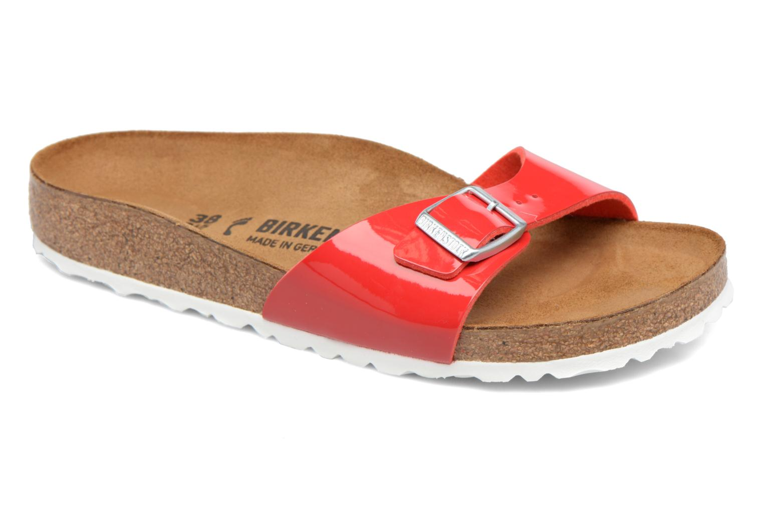 Mules & clogs Birkenstock Madrid Flor W Red detailed view/ Pair view
