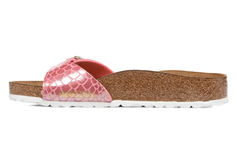 Clogs & Pantoletten Birkenstock Madrid Flor W rosa ansicht von vorne