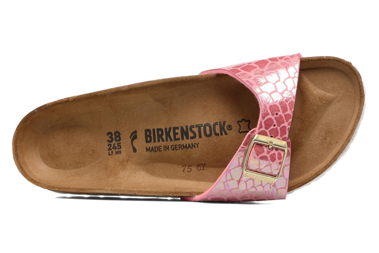 Clogs & Pantoletten Birkenstock Madrid Flor W rosa ansicht von links
