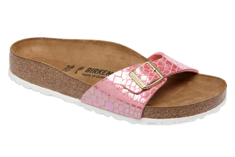 Clogs & Pantoletten Birkenstock Madrid Flor W rosa detaillierte ansicht/modell