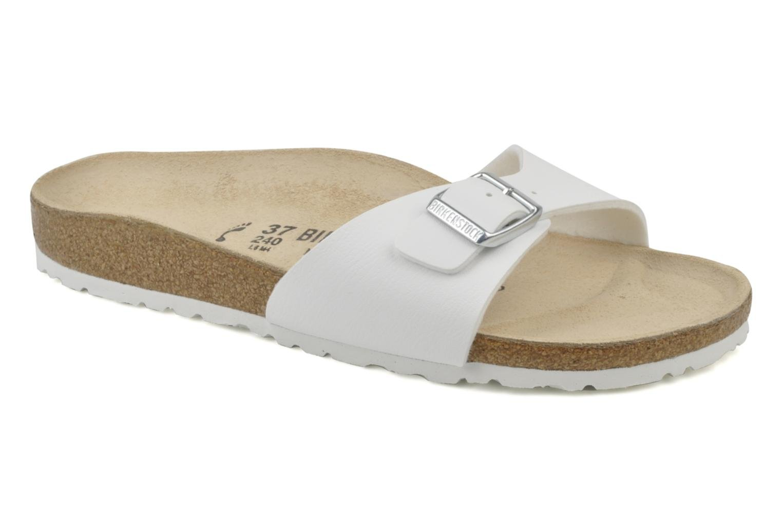 Mules & clogs Birkenstock Madrid Flor W White detailed view/ Pair view