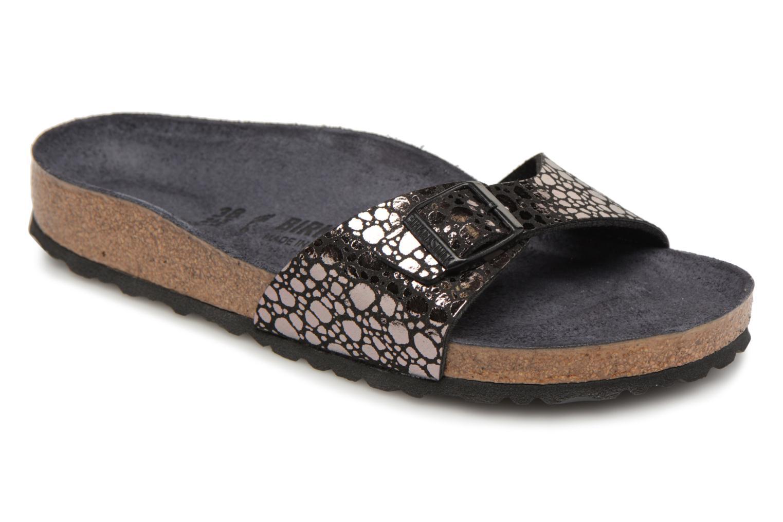 Zapatos cómodos y versátiles Birkenstock Madrid Flor W - (Negro) - W Zuecos en Más cómodo e5227b