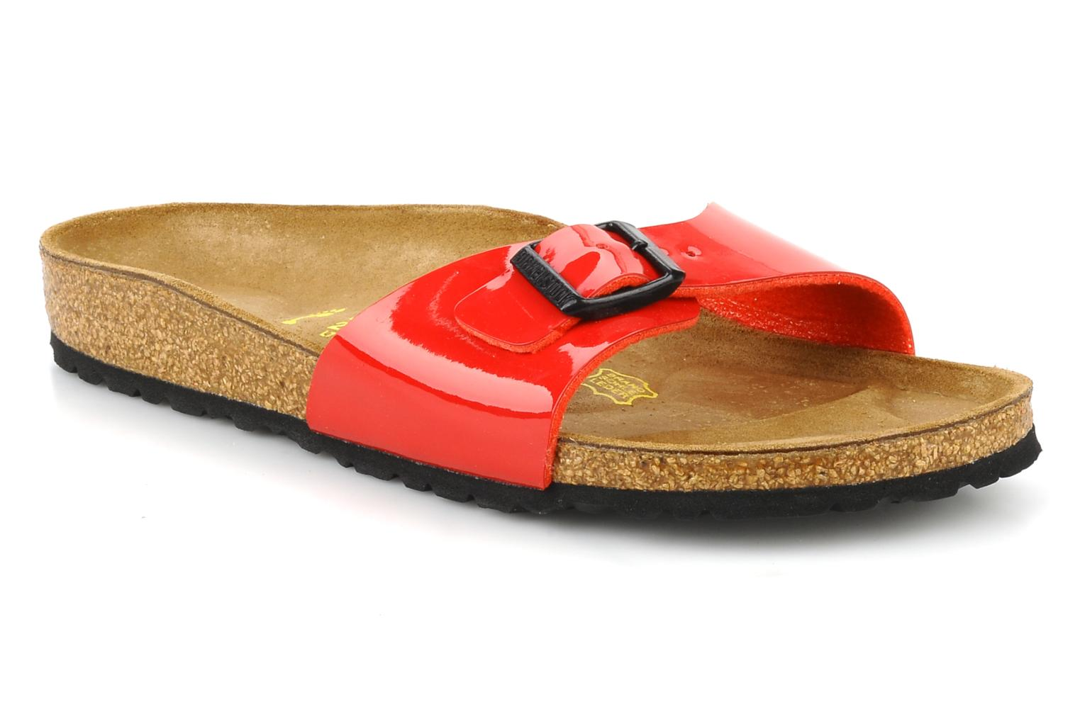 Wedges Birkenstock Madrid Flor W Rood detail