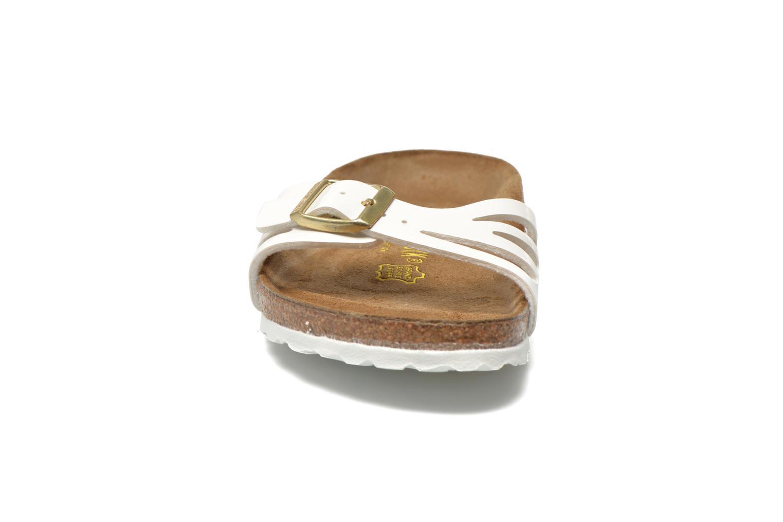 Mules et sabots Birkenstock Molina Flor W Blanc vue portées chaussures