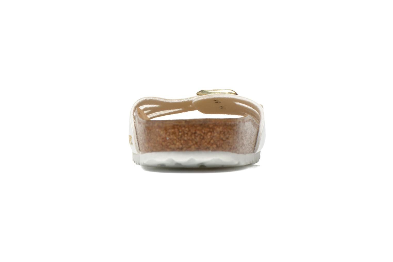 Molina Flor W Vernis Blanc / Boucle Or