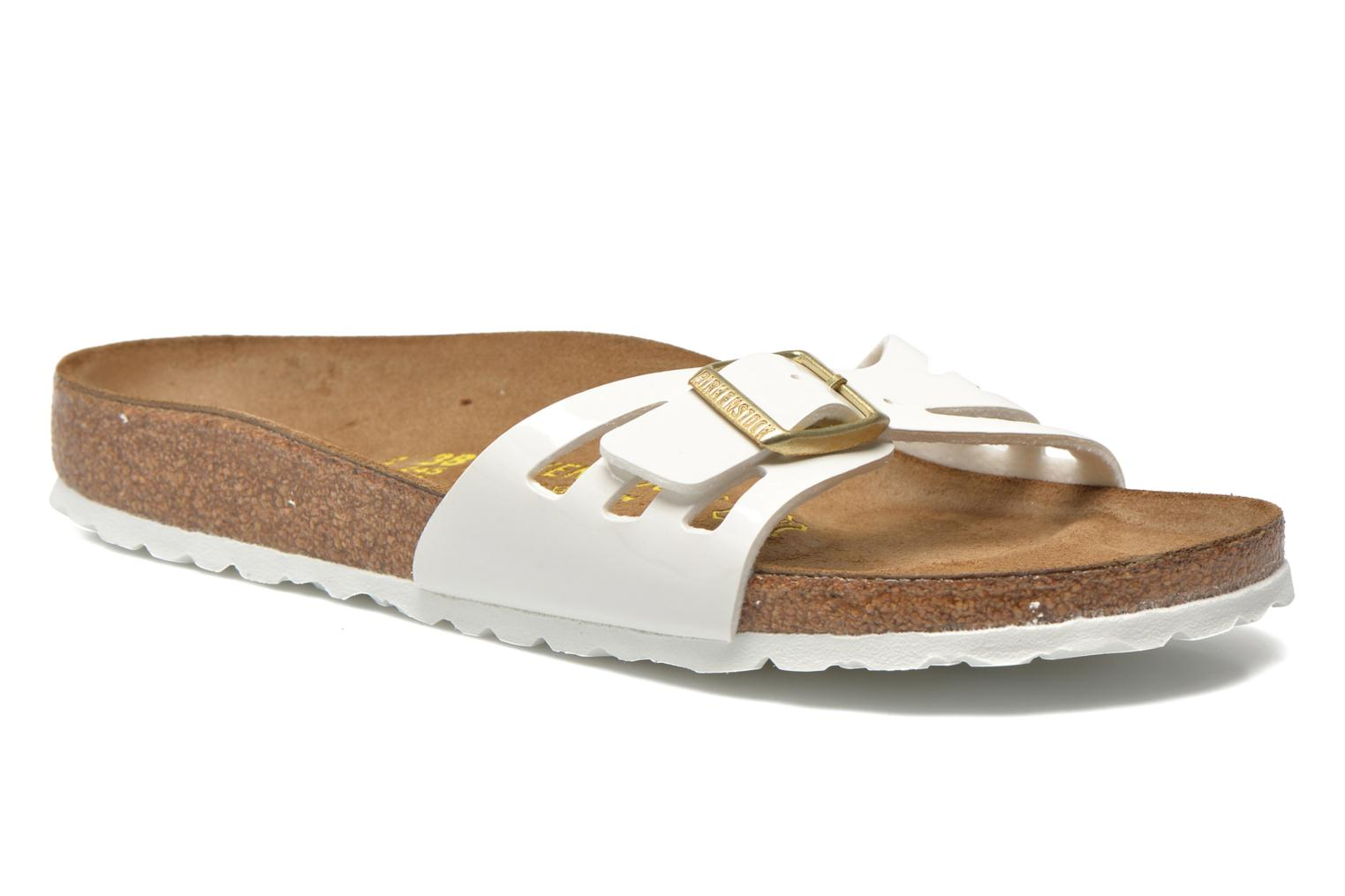Marques Chaussure femme Birkenstock femme Molina Flor W Vernis Blanc / Boucle Or