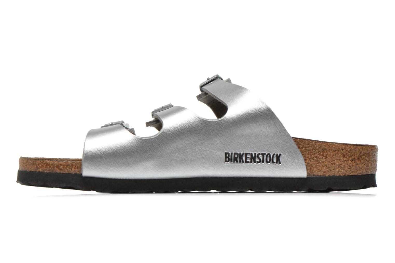 Mules et sabots Birkenstock Florida Flor W Argent vue face