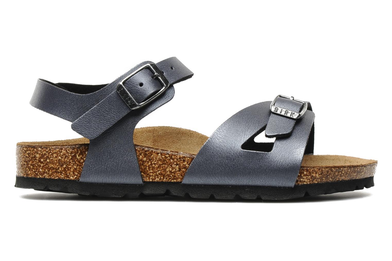 Sandales et nu-pieds Birkenstock Rio Flor E Gris vue derrière