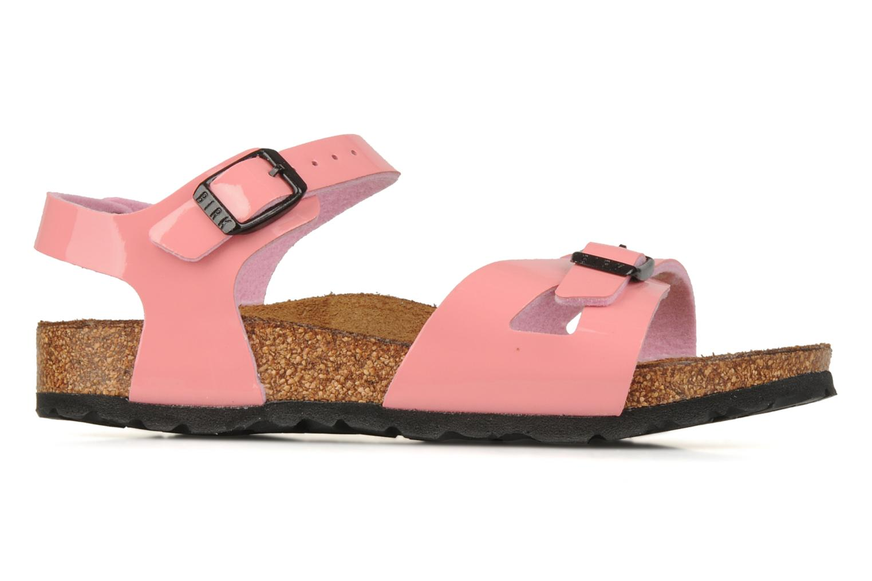 Sandalen Birkenstock Rio Flor E Roze achterkant