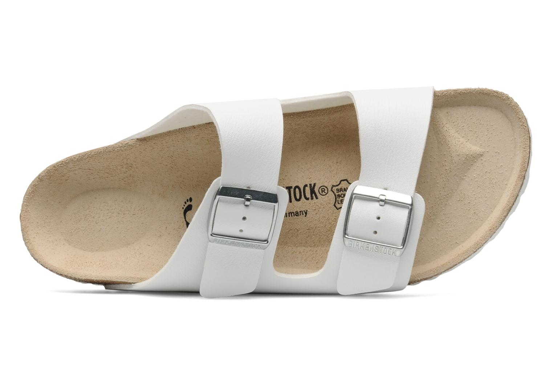 Sandali e scarpe aperte Birkenstock Arizona Flor M Bianco immagine sinistra