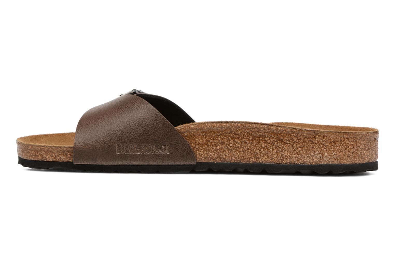 Sandalen Birkenstock Madrid Flor M braun ansicht von vorne