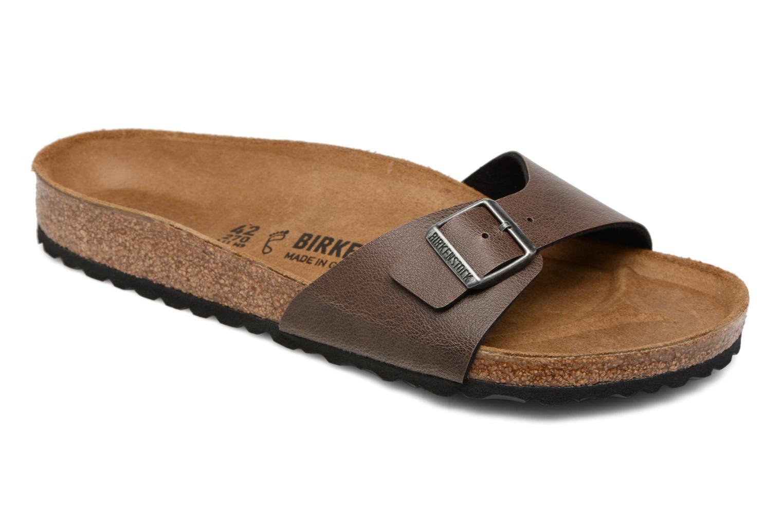 Sandaler Birkenstock Madrid Flor M Brun detaljeret billede af skoene