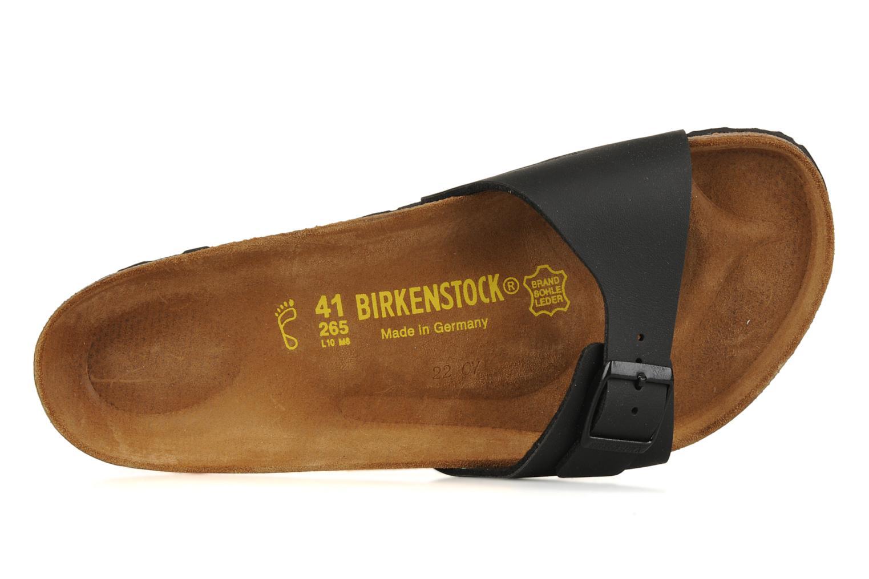 Sandalen Birkenstock Madrid Flor M schwarz ansicht von links