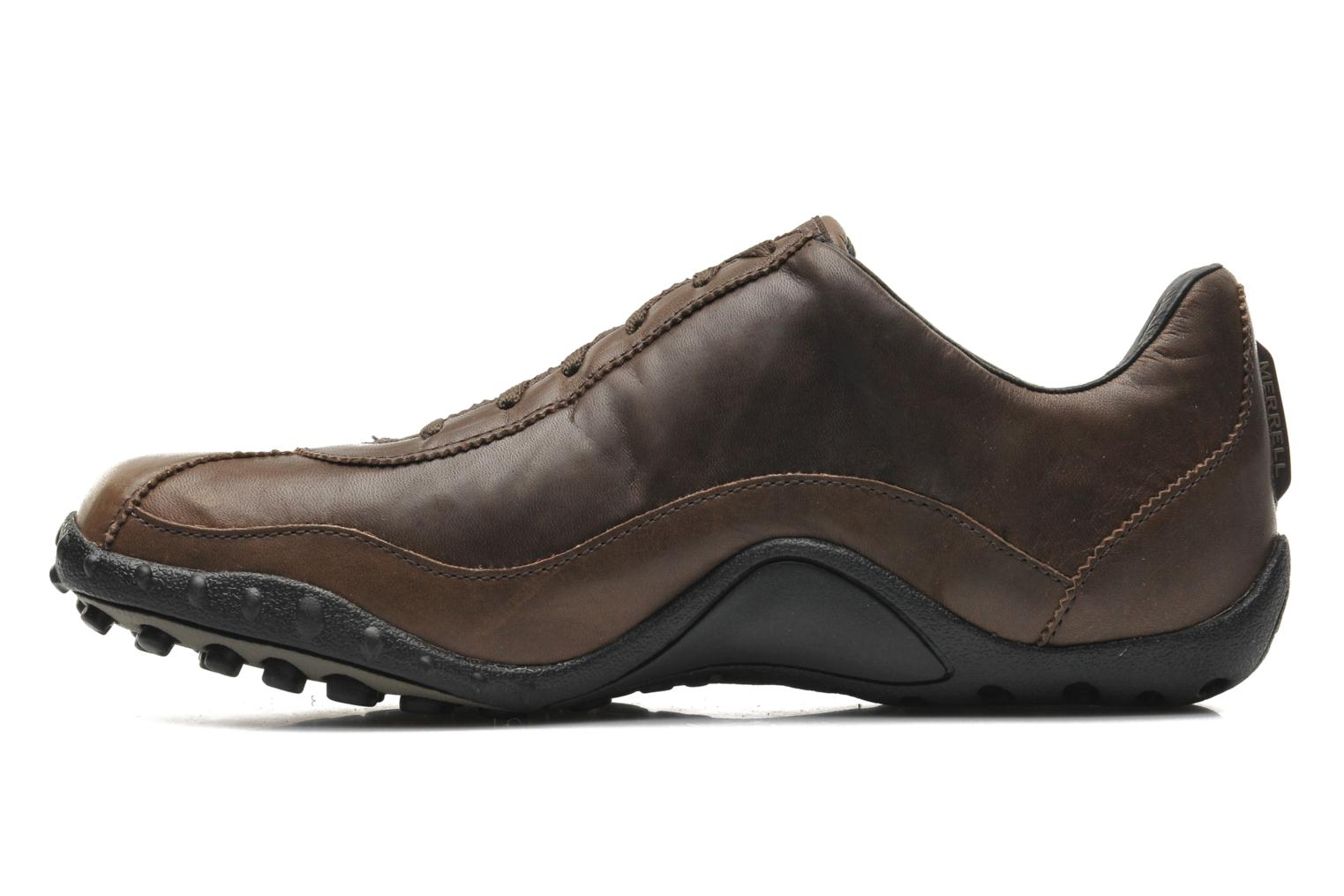Trainers Merrell Sprint Blast Brown front view