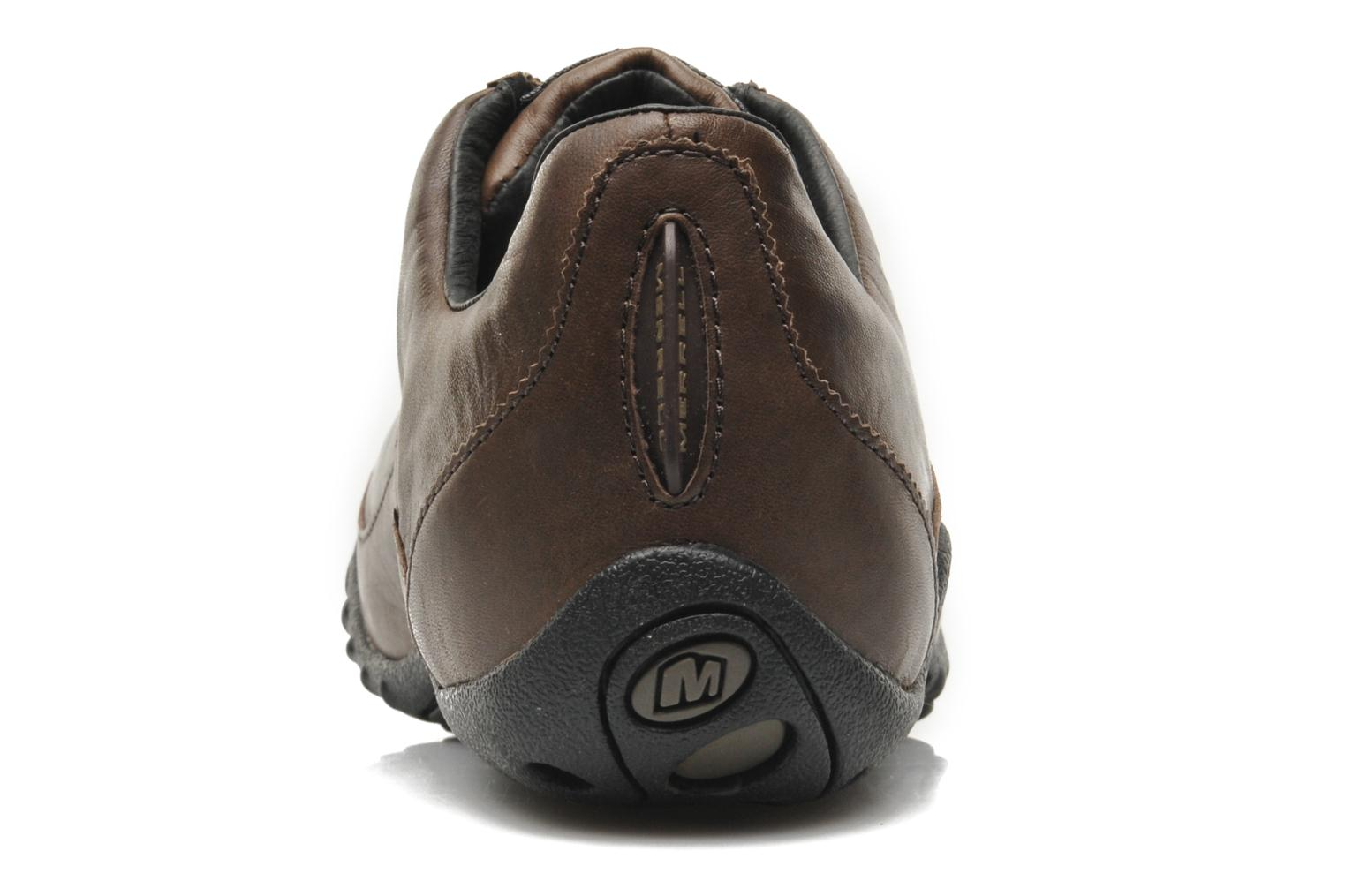 Trainers Merrell Sprint Blast Brown view from the right