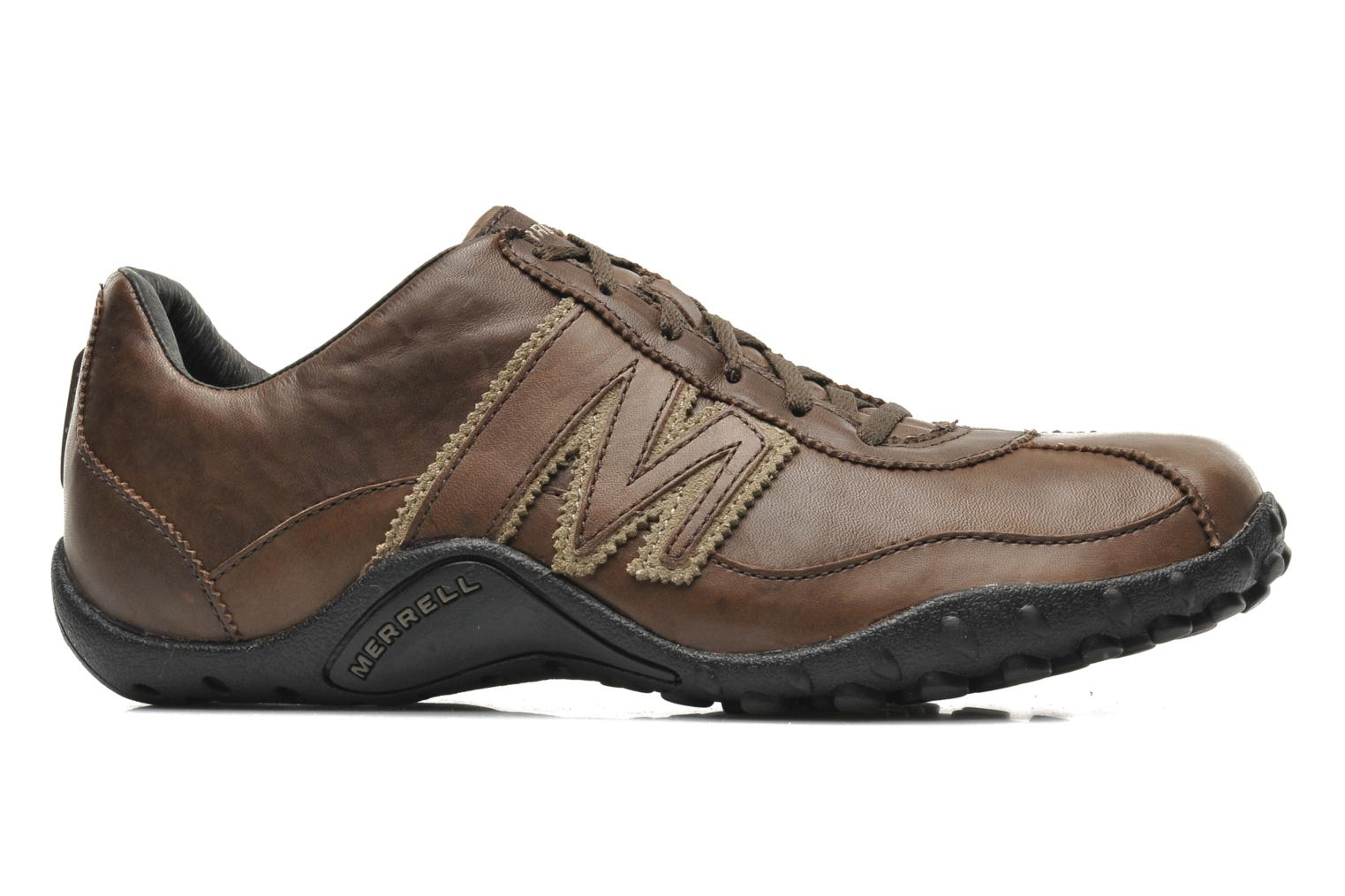 Trainers Merrell Sprint Blast Brown back view