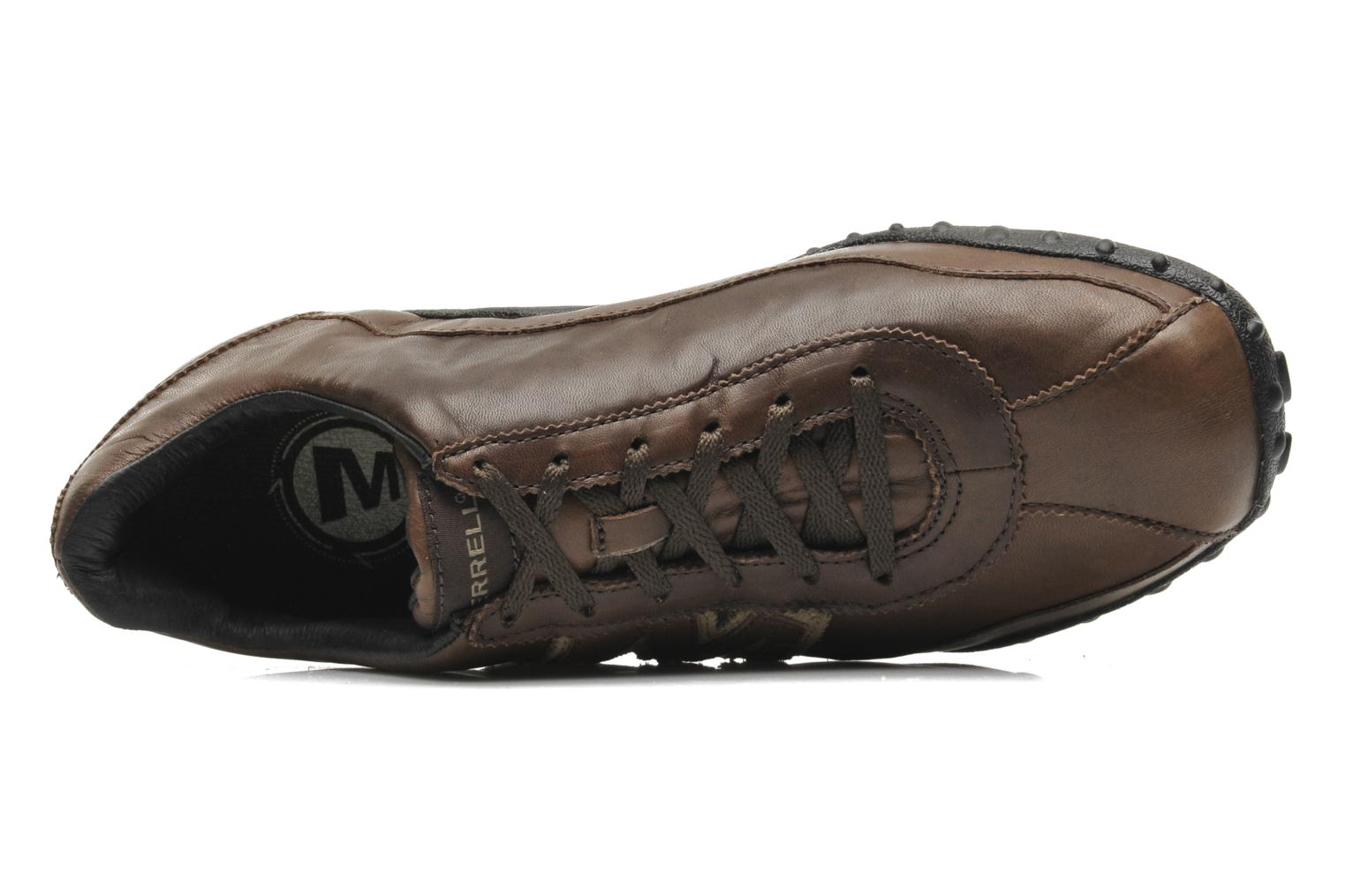 Trainers Merrell Sprint Blast Brown view from the left