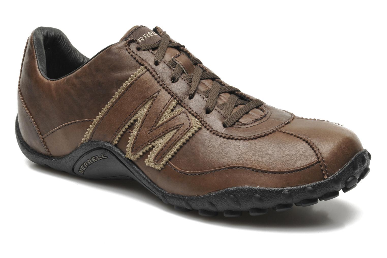 Sneakers Merrell Sprint Blast Brun detaljeret billede af skoene
