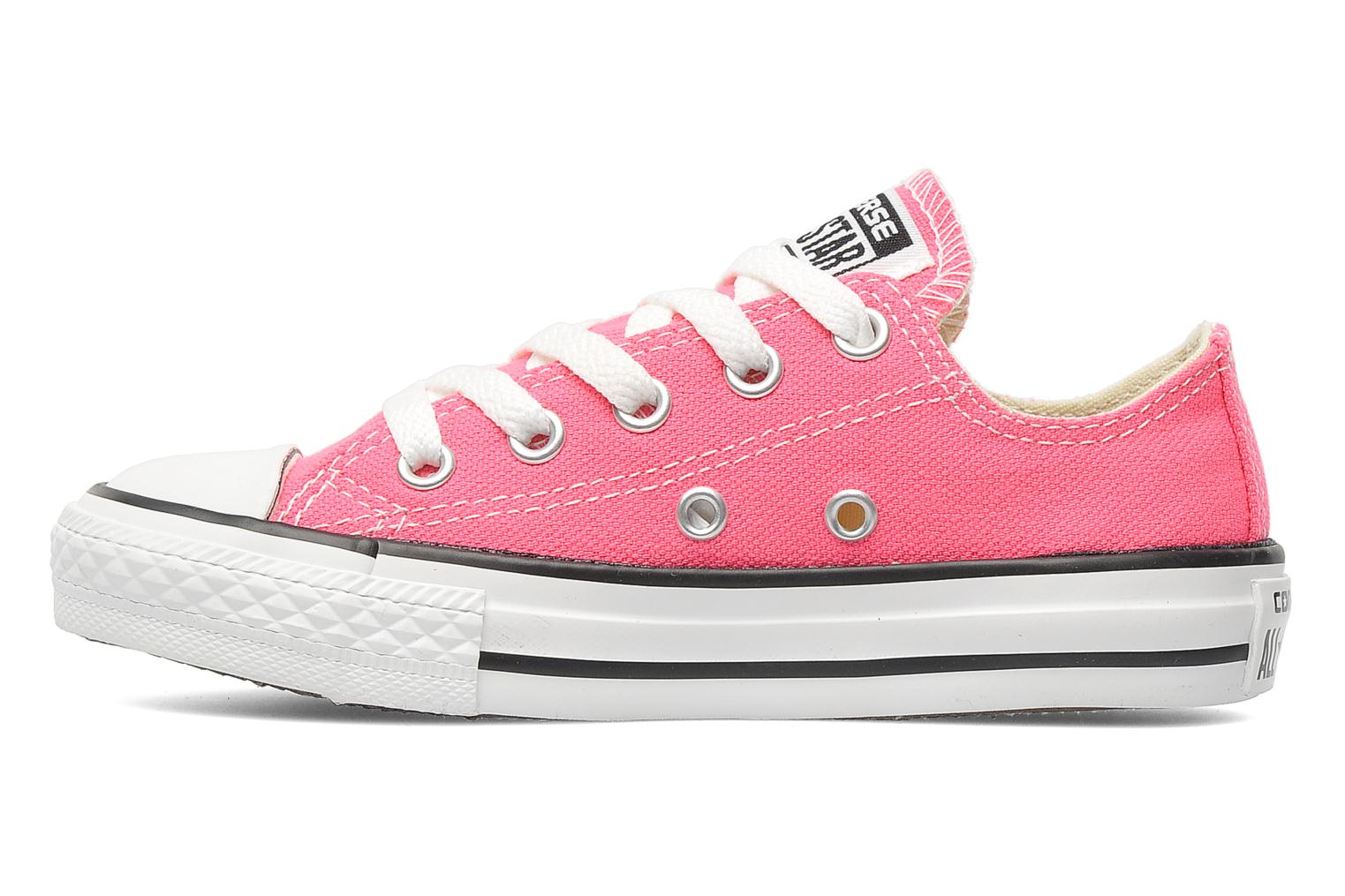 Baskets Converse Chuck Taylor All Star Ox K Rose vue face